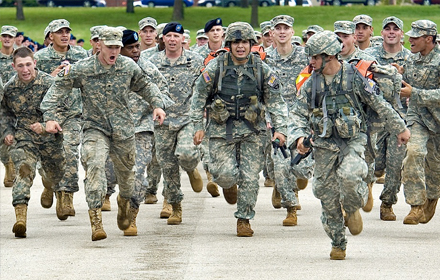 Troops Deployed In South Korea